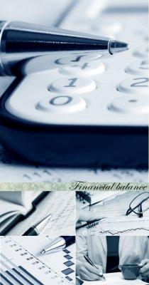 Stock Photo: Финансовый баланс (Financial balance)