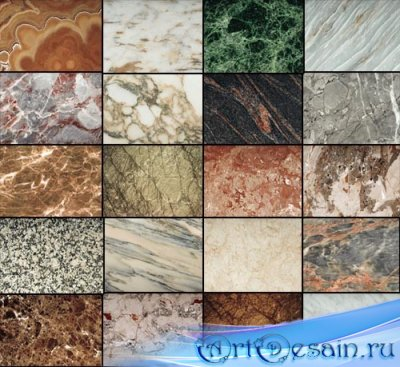 Текстуры для фотошопа - Мрамор