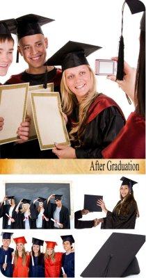 Stock Photo: После Окончания (After Graduation)