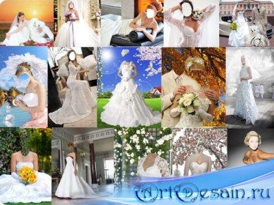 Свадебные PSD шаблоны для фотошопа