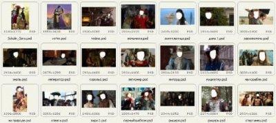Шаблоны для фотошопа - Cтоп кадр