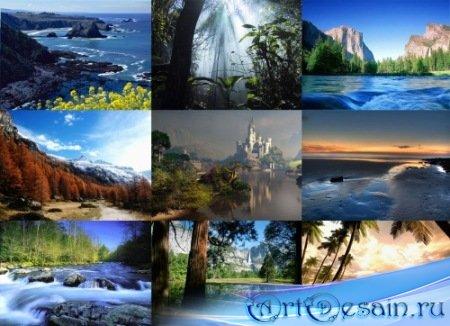 Wallpaperpack - Красивые природные ландшафты.
