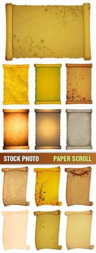 Stock Photo - Свитки (Paper Scrolls)