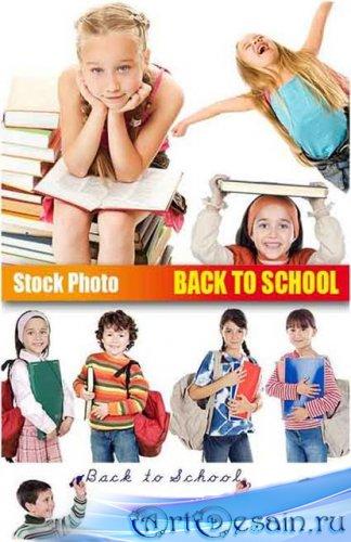 UHQ Stock Photo - Пора в школу! (Back to School)