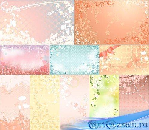 Романтические фоны - Gentle Romantic Backgrounds