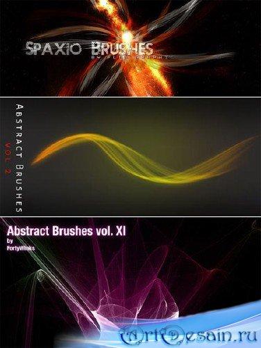 Набор абстрактных кистей для фотошопа - Abstract Photoshop Brushes (Pack 2)