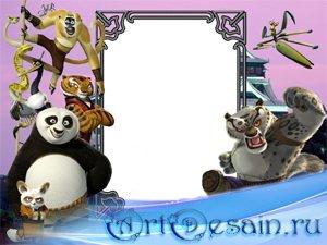 Рамка для фото - Кунг-фу Панда