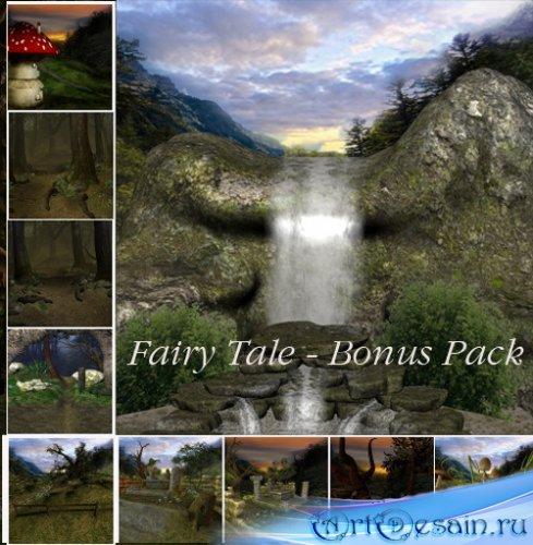 Бонусный пакет сказочных фонов