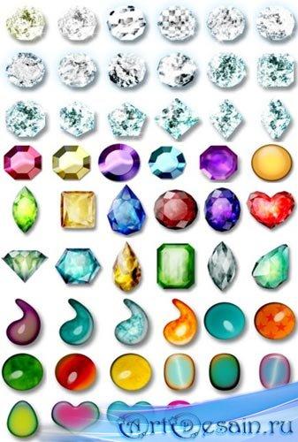 Набор элементов для дизайна - Ювелирные изделия