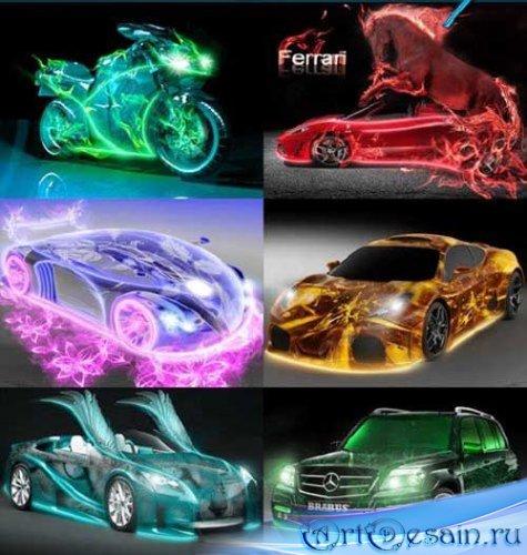 Фантастический стиль машин