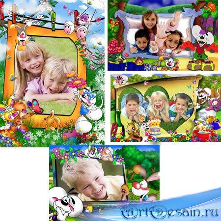 Красивые детские рамки для фотошопа отличного качества