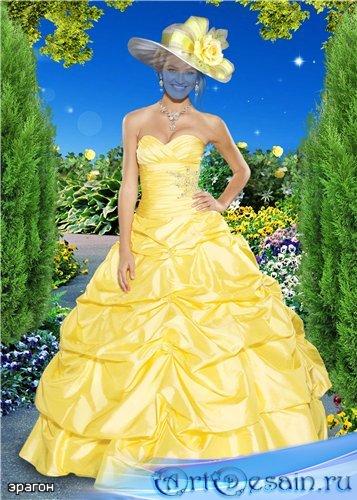 Женский шаблон для фотошопа – Богиня красоты