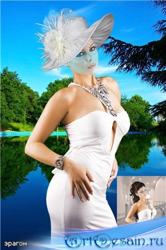 Женский костюм для фотомонтажа – Соблазн