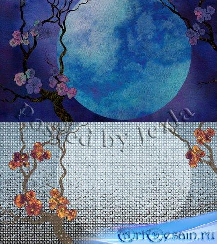 PSD Исходники - Цветущая Сакура (Flowering sakura)