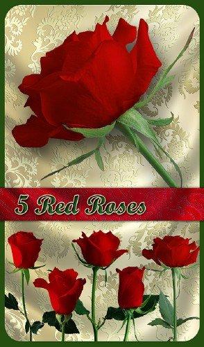 PNG Клипарт - Прекрасные красные розы (на прозрачном фоне)