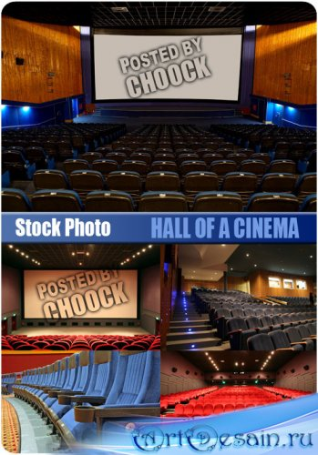 Stock Photo - Зал в кинотеатре