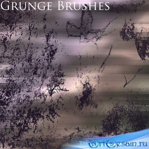 9 Grunge Brushes Pack