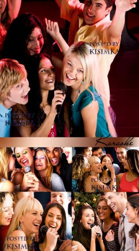 Stock Photo: Karaoke