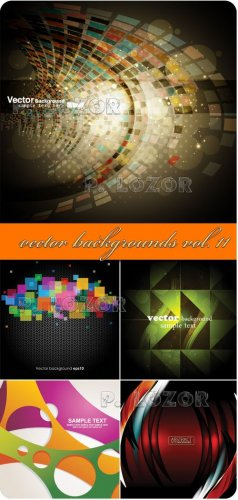 Set of vector backgrounds vol.11