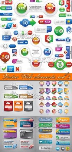 Vector Web elements vol.3