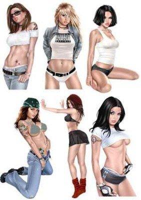Psd исходники для photoshop девушки