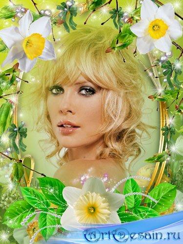 Рамка для фото - Красавица весна