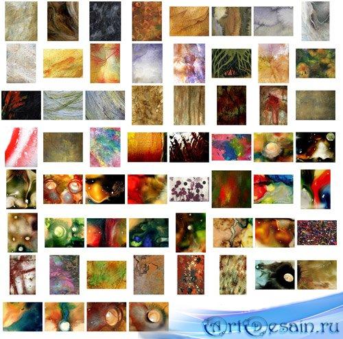 Живописные текстуры / Paint textures