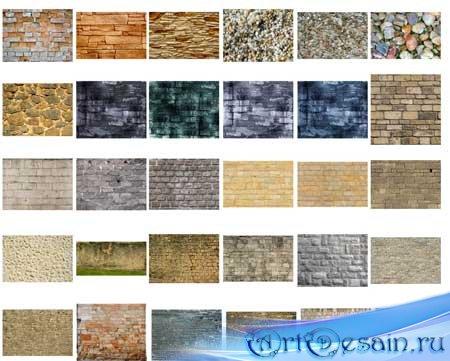 Каменные и кирпичные текстуры / Stone and brick textures