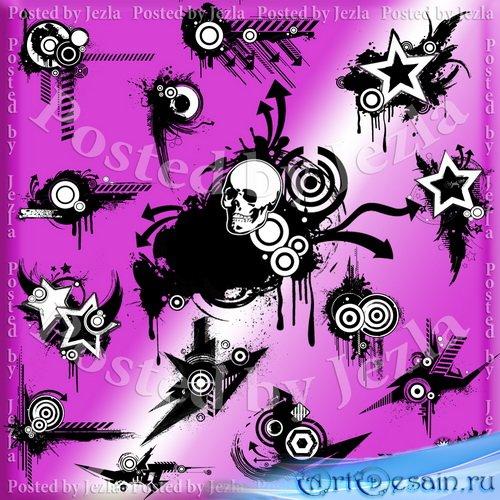 PNG Клипарт - Retro Grunge