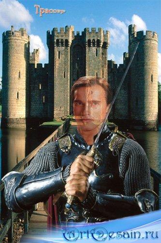 Шаблон мужской  – Рыцарь