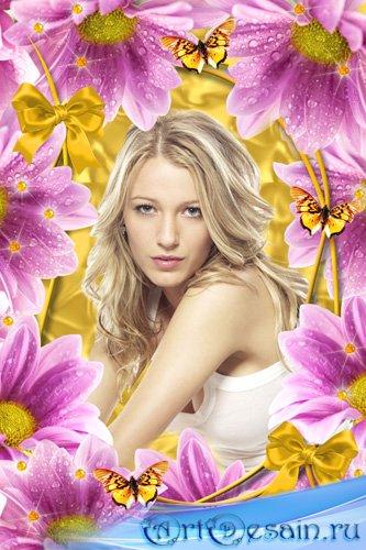 Рамка для фото – Цветов прелестный аромат