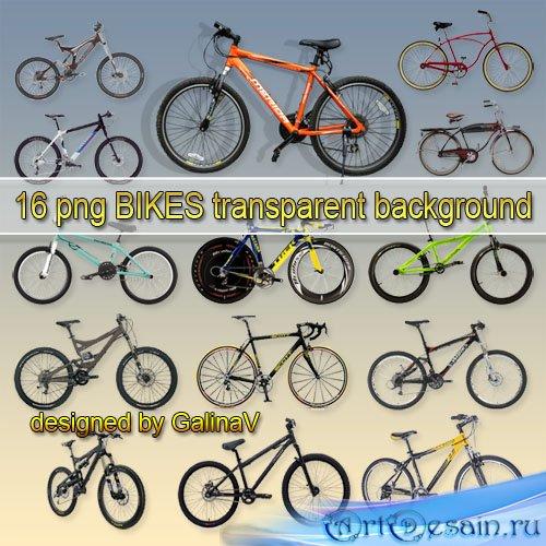 Велосипеды, клипарт PNG на прозрачном фоне