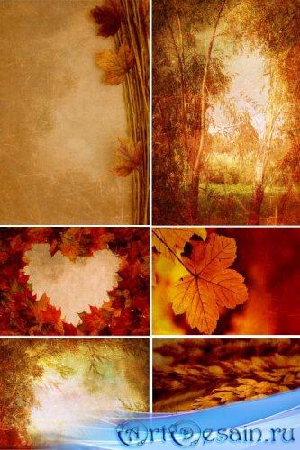 Фоны для фотошопа - Осенние картины