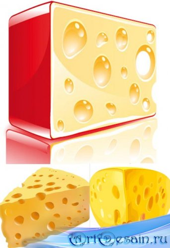 Сыр в векторе / Cheese vector Collection