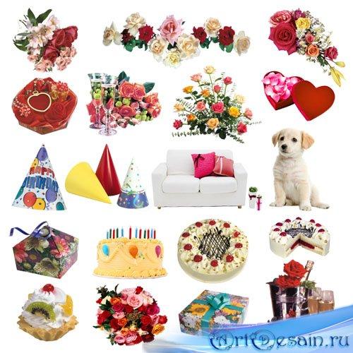 Клипарт ко Дню рождения | Happy Birthday Clipart PNG