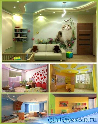 Шикарный дизайн детской комнаты 4