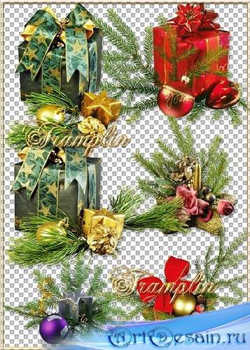 Новогодние подарки - Дед Мороз уже в пути,  долго к нам ему идти. С Новым г ...