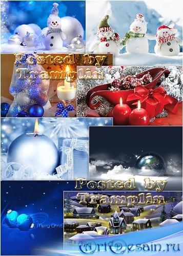 Новогодние Фоны  - Backgrounds new years -  Скоро, скоро Новый год