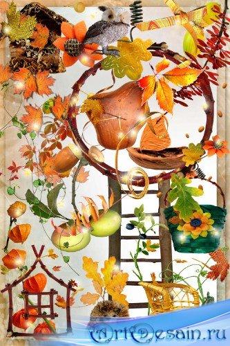 Скрап-набор - Осеннее очарование