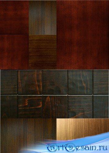 Деревянные фоны и текстуры