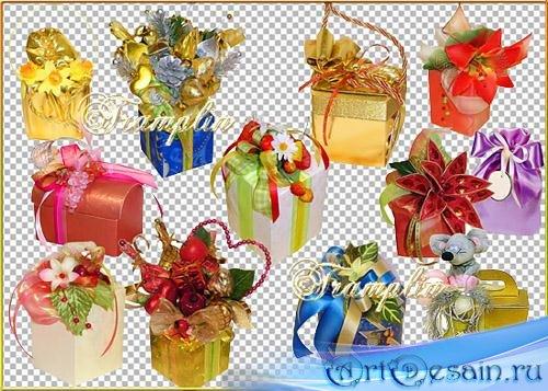 Клипарт – Подарки на разные праздники