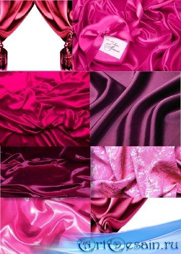 Алые пурпурно-фиолетовые шелковые фоны
