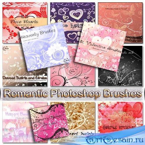 Романтические кисти для Photoshop