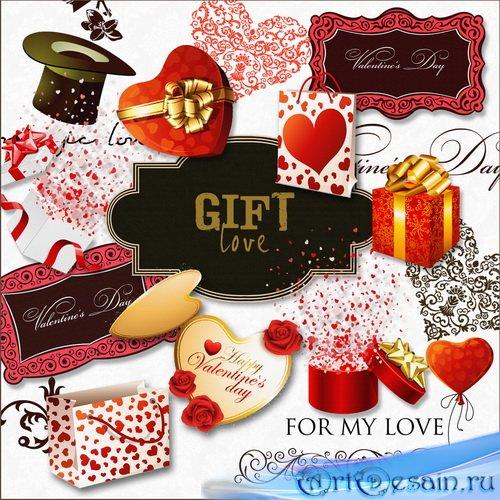 Винтажный скрап-набор - Подарки для любимых