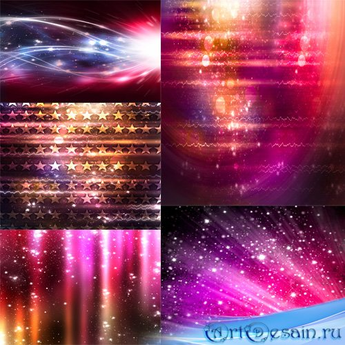 Clip Art - Abstract backgrounds