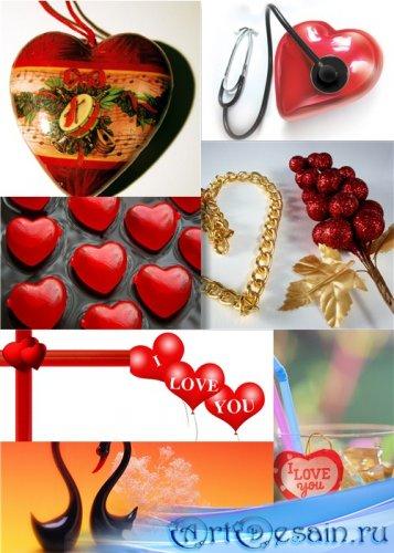 Клипарт - Любовные сердечки