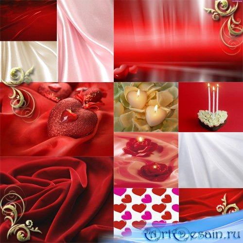 Клипарт - Фоны ко дню Св. Валентина