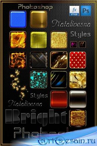 Яркие стили  для Photoshop 2  - Bright styles for Photoshop 2