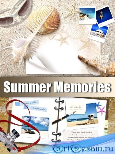 Рамки для Adobe Photoshop - Летние Воспоминания