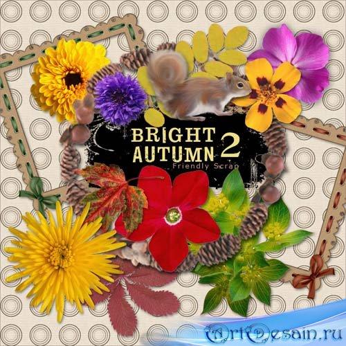 Скрап набор - Яркая осень